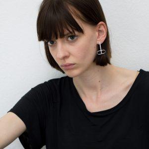 Nanna Doll Schmuck The Ovals Ohrringe mit Streifen